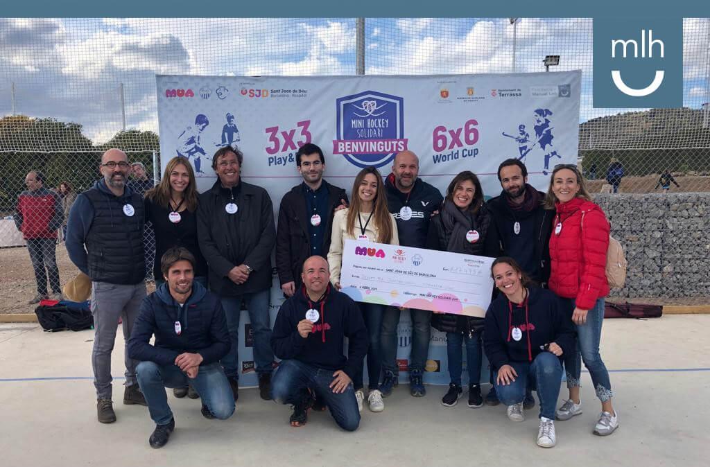 La Fundación Manuel Lao patrocinador principal de la V Edición del torneo minihockey solidari organizado por Mua Solidaris