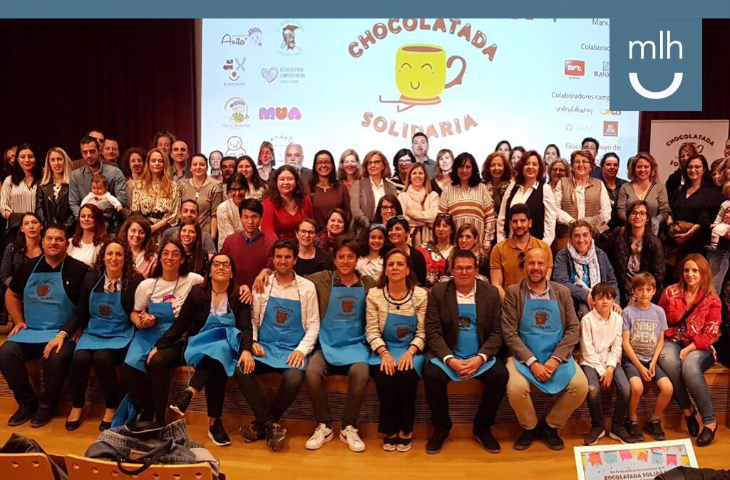Un año más la Fundación Manuel Lao apoya y participa activamente con la Chocolatada Solidaria