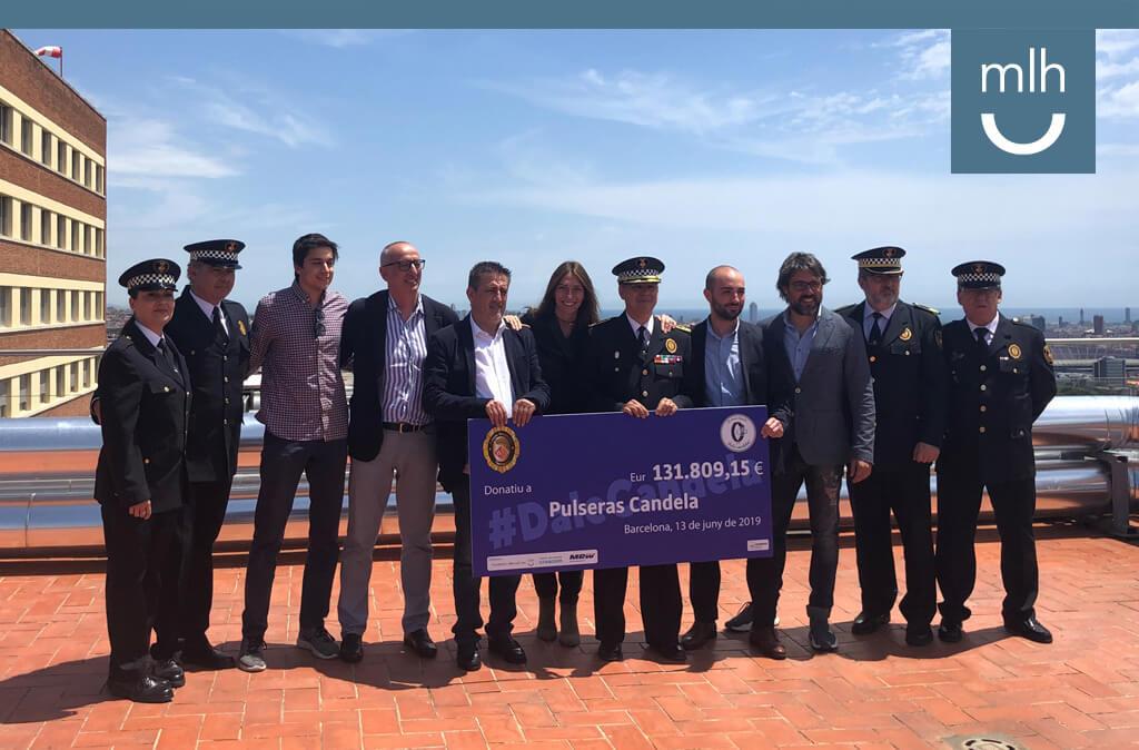La policía municipal de Terrassa por y para los valientes, con el apoyo de la Fundación Manuel Lao