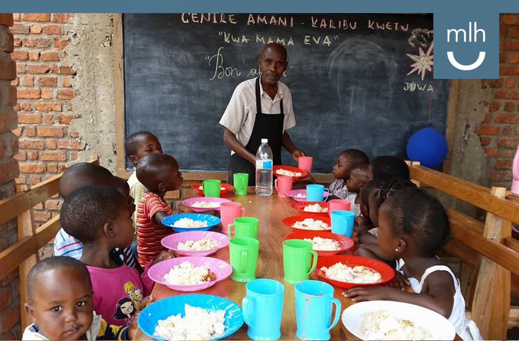 La Fundación Manuel Lao asume los costes de la alimentación anual de los 65 niños del centro niños de Katana en el Congo