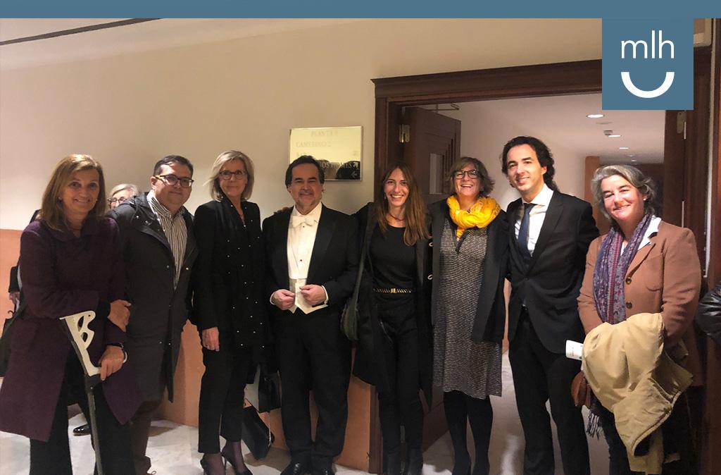 Concierto JOSB a favor de Unicef, Palau de la Música Barcelona