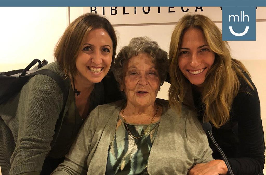Homenaje a la perseverancia de Antonia Domenech