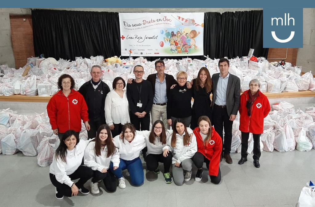 Cruz Roja Terrassa y la Fundación Manuel Lao unidos una vez más para promover la recogida de juguetes